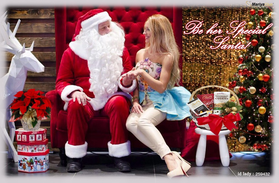 Be her Special Santa!