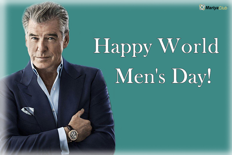 World Men's Day!