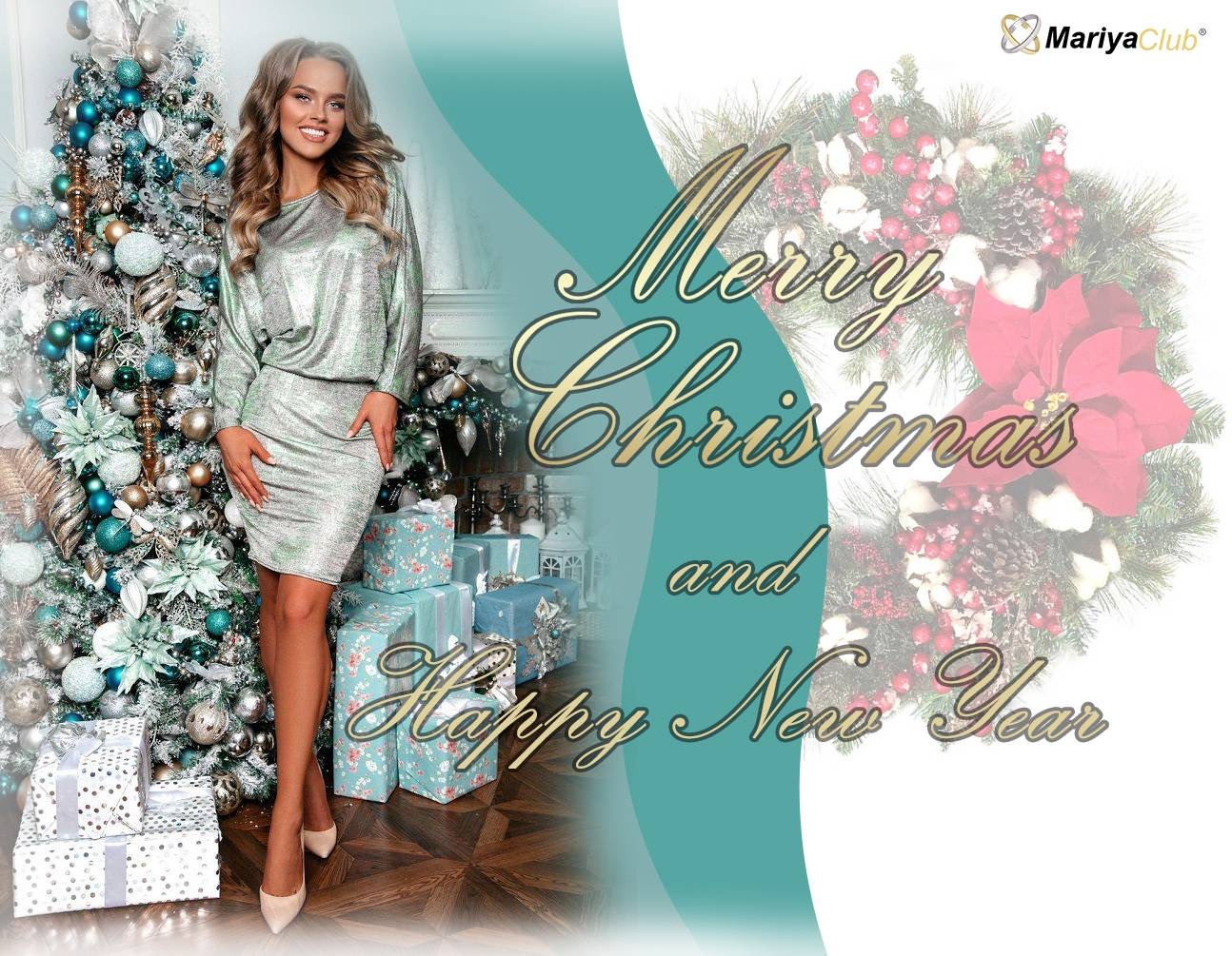 Christmas Wishes from Mariya-club !   https://youtu.be/oUmrnohszRA