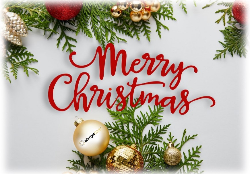 Mariya-club wishes you Merry Christmas