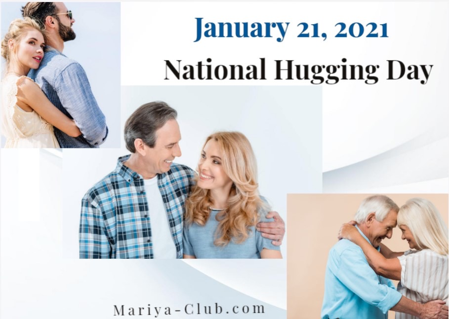 Open up your heart … and your arms, this January 21 for National Hugging Day!